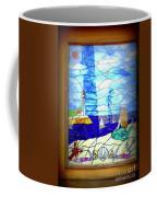 Mermaid Window  Coffee Mug