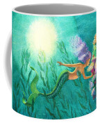 Mermaid's Garden Coffee Mug