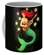 Mermaids Rock Tiki Guitar Coffee Mug
