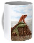 Merman Resting Coffee Mug