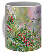 Merry Christmas - Berries Coffee Mug