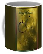 Merry Christmas Greetings In Soft Yellow Coffee Mug