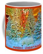 Merry Christmas Polar Bears Coffee Mug
