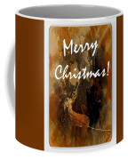 Merry Christmas Reindeer 2 Coffee Mug