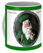 Merry Irish Santa Coffee Mug
