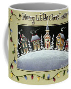 Merry Little Christmas Hill Coffee Mug