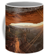 Mesa Arch Sunrise 4 - Canyonlands National Park - Moab Utah Coffee Mug