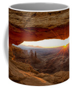 Mesa Arch Sunrise - Canyonlands National Park - Moab Utah Coffee Mug by Brian Harig