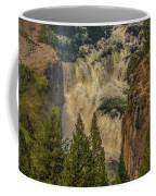 Mesa Falls In Summer Coffee Mug
