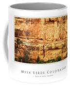 Mesa Verde Colorado Gallery Series Collection Coffee Mug