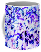 Mess In Blue Tones Coffee Mug