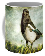 Message From The Magpie Coffee Mug by Belinda Greb