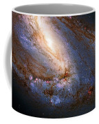 Messier 66 Galaxy Enhanced Coffee Mug