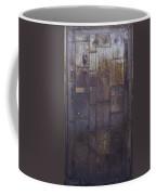 Metal Door Coffee Mug