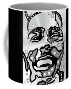 Metal Face 2 Coffee Mug by Darren Cannell
