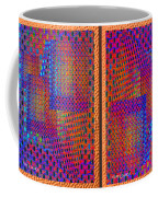 Metal Panel Abstract Coffee Mug