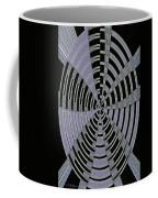 Metal Panel With Holes Abstract #3 Coffee Mug