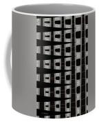 Metal Panel With Holes Abstract Coffee Mug