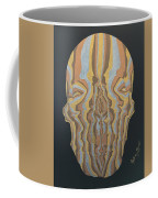 Metallic Skull Coffee Mug