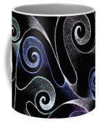 Metallic Swirls Coffee Mug