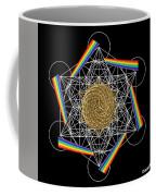 Metatron's Rainbow Healing Vortex Coffee Mug