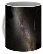 Meteor Burst Across The Milky Way Coffee Mug