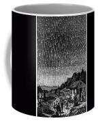 Meteor Shower, 1833 Coffee Mug by Granger