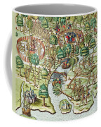 Methods Of Sieging And Attacking Coffee Mug by Theodore de Bry