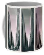 Metropolis Rush Hour Triptych Coffee Mug
