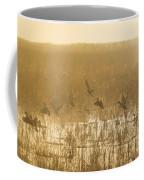 Metzgers Marsh In Fog Coffee Mug