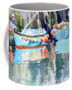 Mevagissey Harbour Coffee Mug