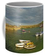 Mevagissey Outer Harbour Coffee Mug
