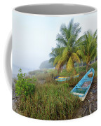Mexican Boat In The Fog Coffee Mug