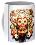 Mexican Day Of The Dead Mask Coffee Mug