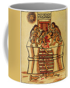 Mexico: Aztec Sacrifice Coffee Mug