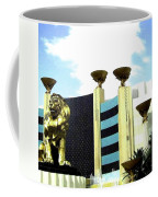 Mgm Lion In Las Vegas Coffee Mug
