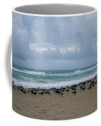 Miami Beach Flock Of Birds Coffee Mug