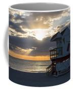 Miami Beach Life Guard House Sunrise 2 Coffee Mug