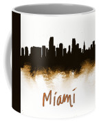 Miami Fla 2 Skyline Coffee Mug