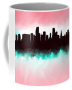 Miami Fla Skyline Coffee Mug