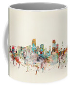 Miami Florida City Skyline Coffee Mug