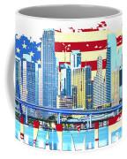 Miami Florida City Skyline Coffee Mug