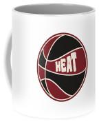 Miami Heat Retro Shirt Coffee Mug