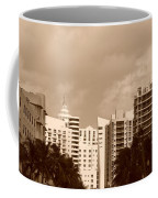 Miami  Sepia Sky Coffee Mug