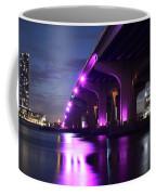 Miami Under The 395 At Night Coffee Mug