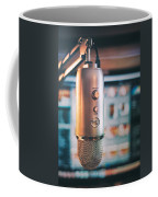 Mic Check 1 2 3 Coffee Mug by Scott Norris