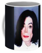 Michael Jackson Mugshot Coffee Mug by Bill Cannon