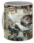 Michelangelo: Adam Coffee Mug