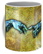 Michelangelo's Creation Of Man Coffee Mug