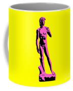 Michelangelos David - Punk Style Coffee Mug by Pixel Chimp